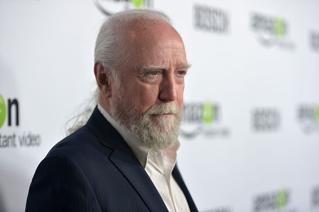 """Actor Scott Wilson arrives for the red carpet premiere screening for Amazon's first original drama series """"Bosch"""" at ArcLight Cinemas Cinerama Dome on February 3, 2015 in Hollywood, California."""