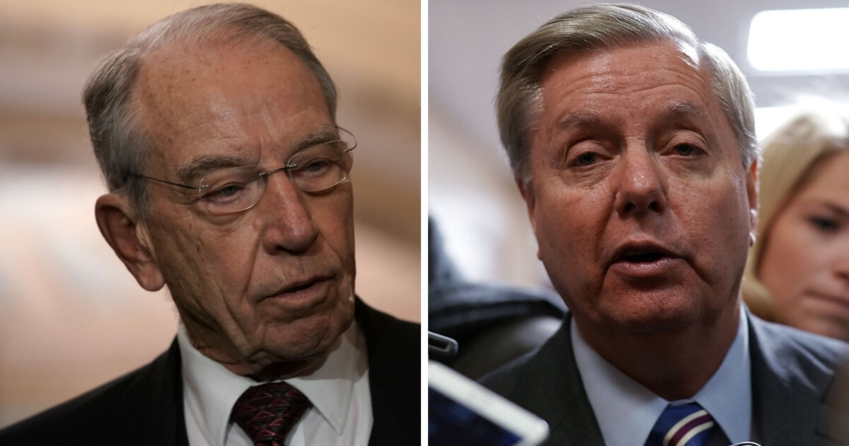 Senate Judiciary Chairman Grassley Announces He's Stepping Down... Lindsey Graham Ready To Step Up