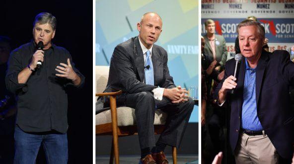 Sean Hannity, Michael Avenatti, Lindsey Graham