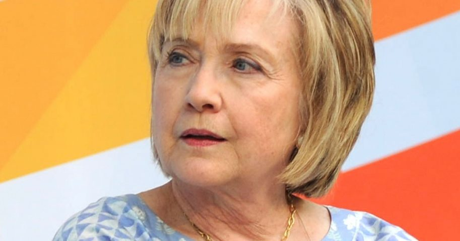 Former Democratic presidential candidate Hillary Clinton.