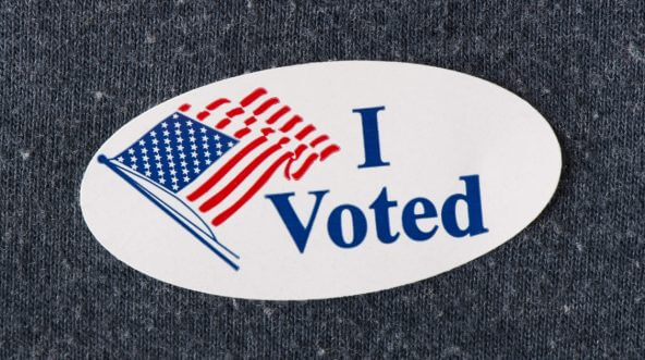 image about I Voted Stickers Printable identified as The Tale Driving the I Voted Sticker Is Significantly Further