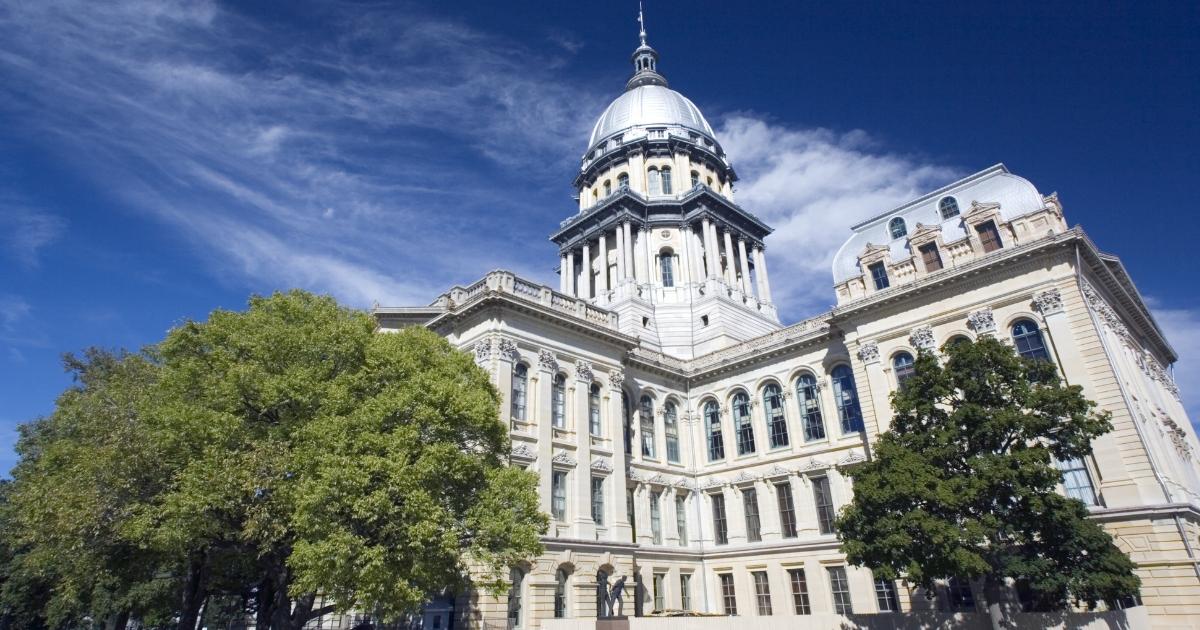Illinois' Capitol in Springfield.
