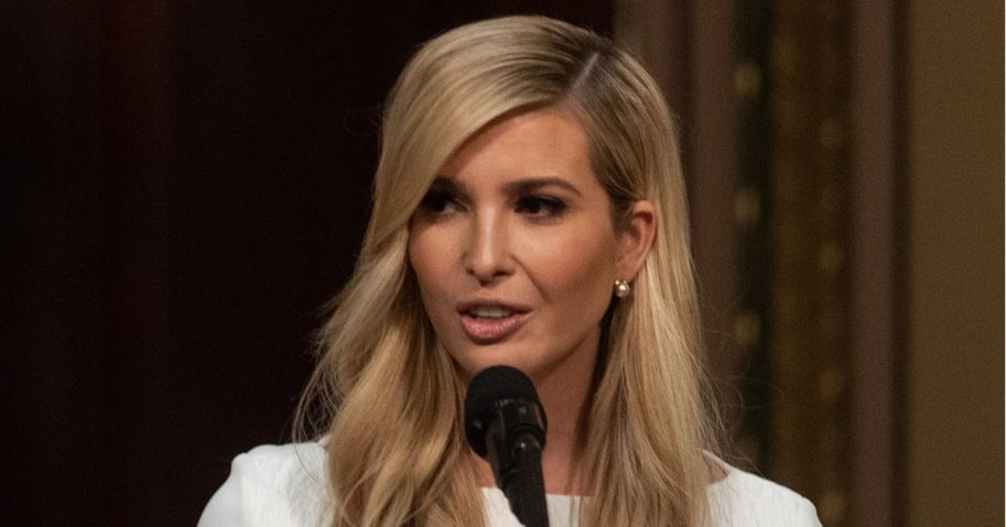 Ivanka Trump speaks at the White House on Oct. 11.