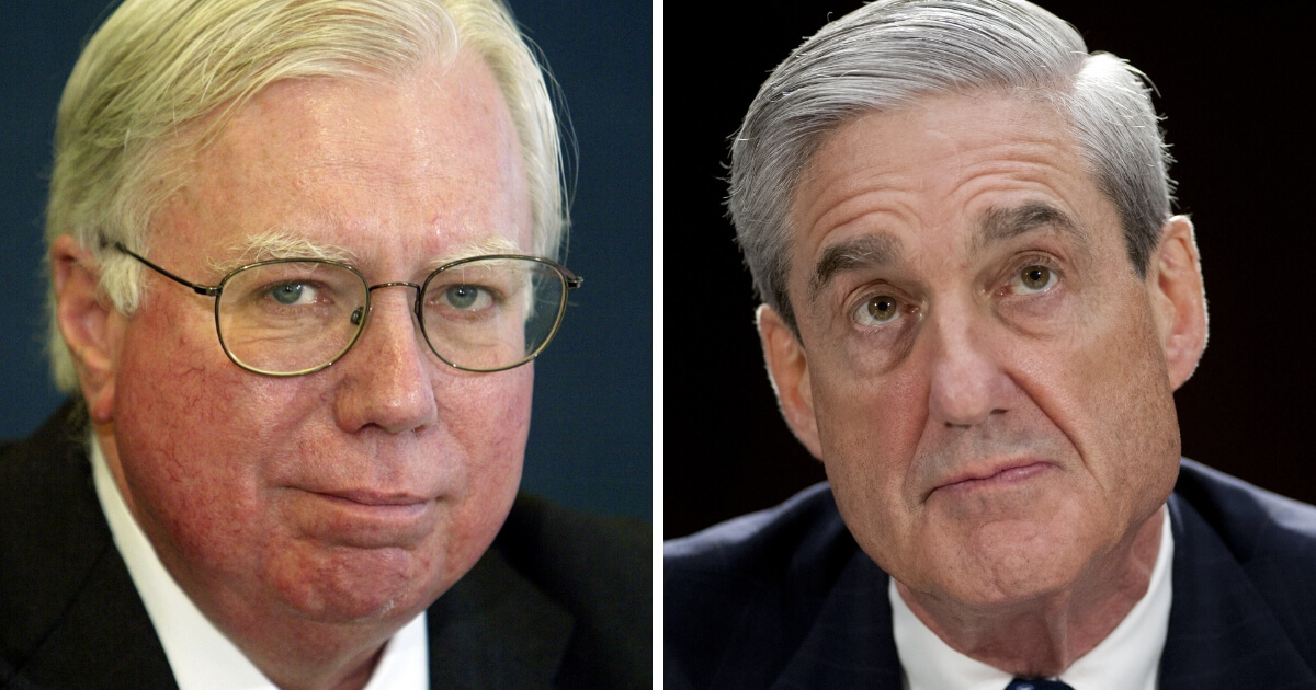 Jerome Corsi and Robert Mueller