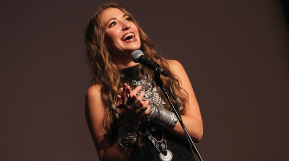 Lauren Daigle speaks in the press room at the 4th Annual KLOVE Fan Awards at The Grand Ole Opry House on June 5, 2016 in Nashville, Tennessee.