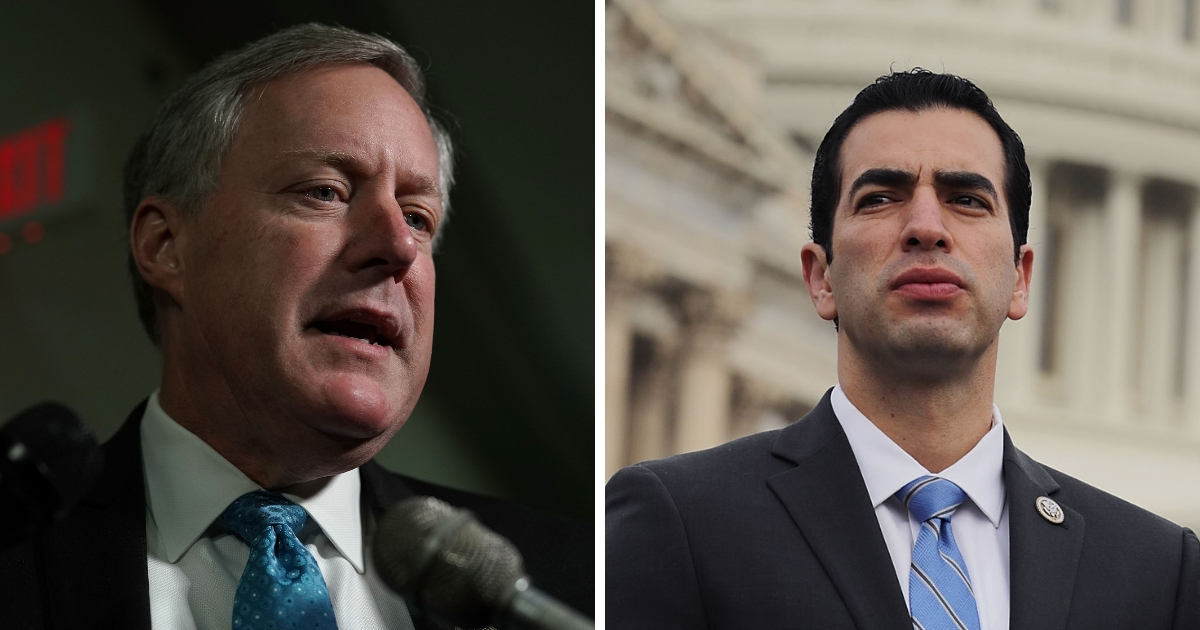 Mark Meadows and Ruben Kihuen