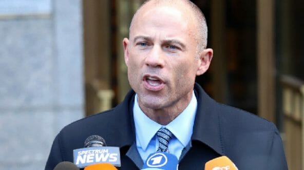 Attoreny Michael Avenatti is pictured in a file photo from April.