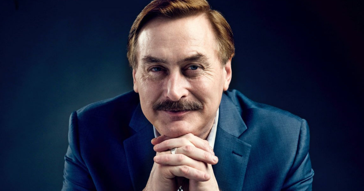 My Pillow inventor and CEO Mike Lindell.
