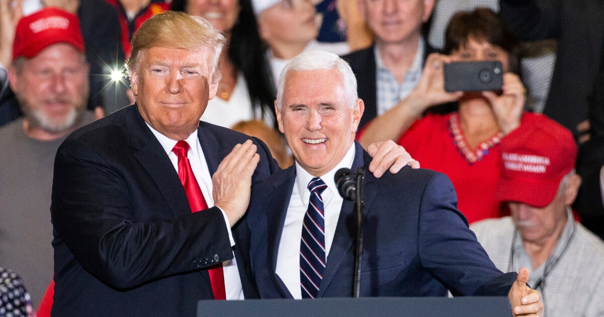 U.S. President Donald Trump and Vice President Mike Pence
