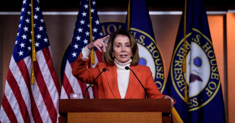 House Minority Leader Nancy Pelosi (