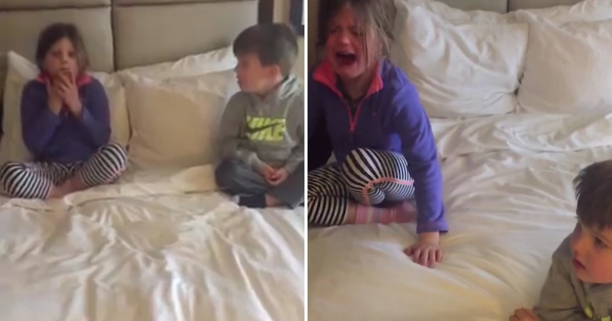 Disney Surprise Backfires: Kids Have Meltdown After Learning There's No Trip to Grandma's