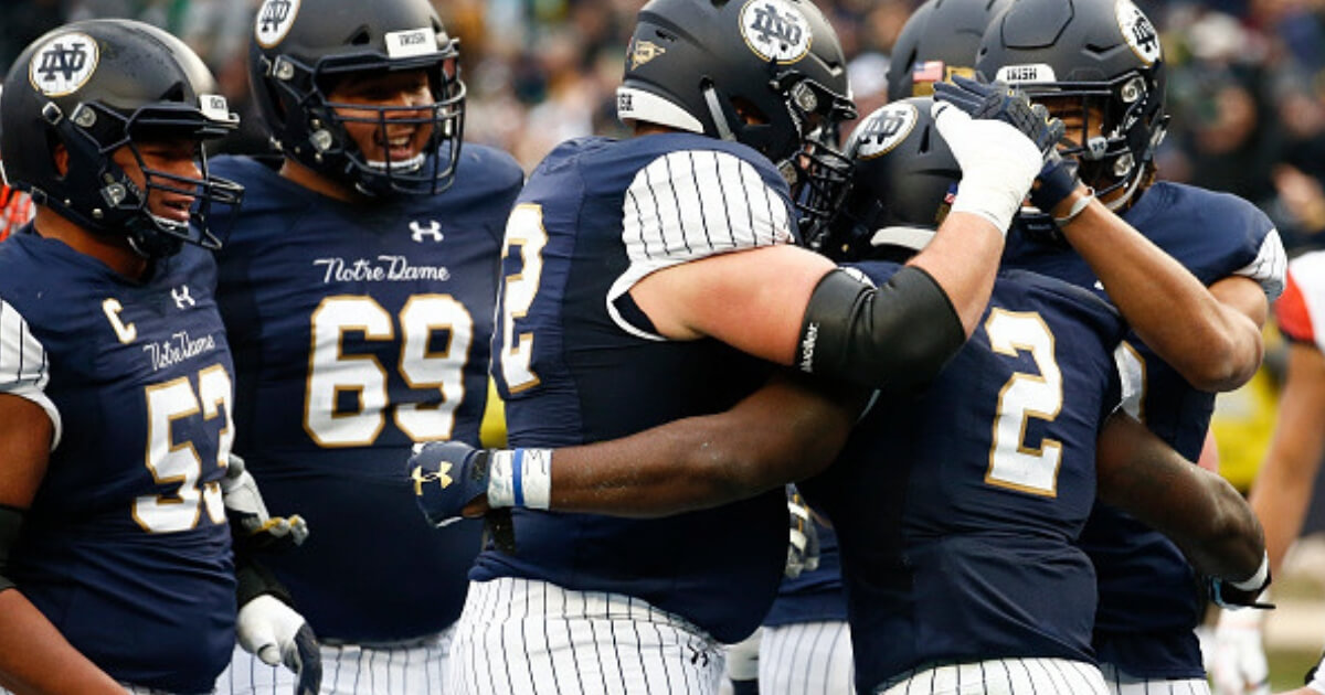 Notre Dame Gets Absolutely Roasted For The Uniforms It Wore In New York