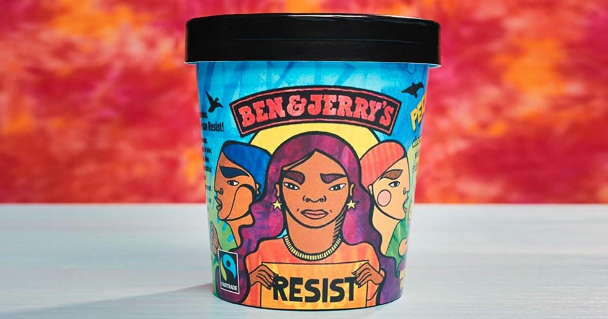 Pecan Resist ice cream carton