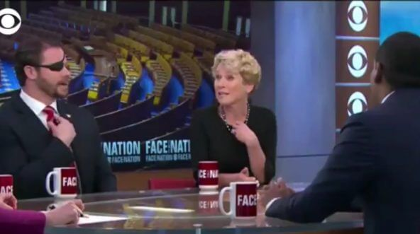 """Reps.-elect Dan Crenshaw and Chrissy Houlahan on """"Face the Nation."""""""