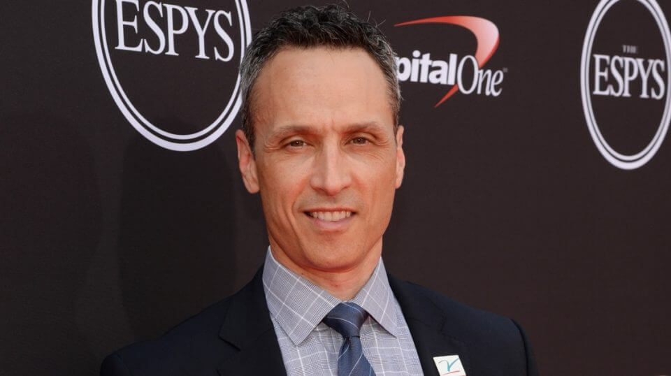 ESPN President Jimmy Pitaro attends the 2018 ESPY awards show in Los Angeles.