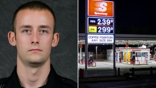 Police Officer Pays for Woman's Gas