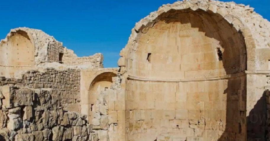 Runs of an ancient church.