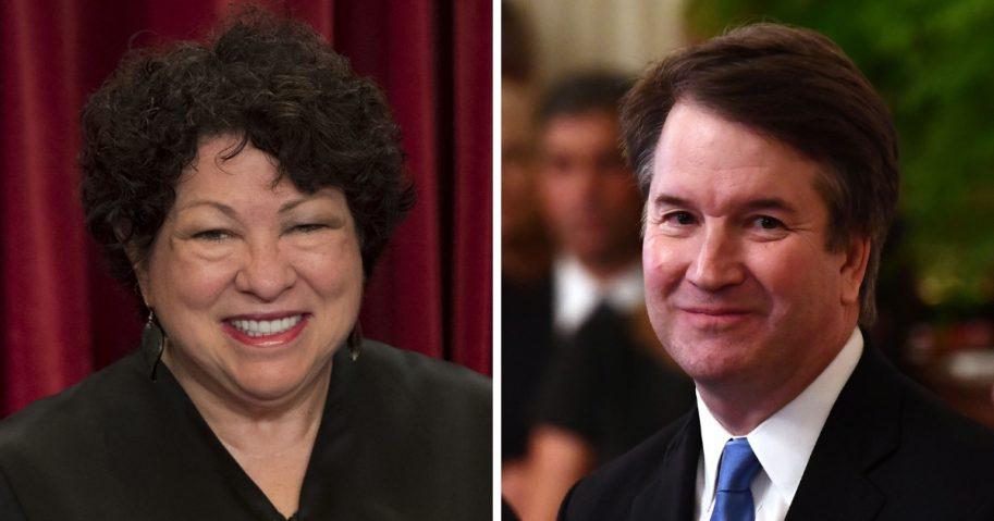 Sotomayor and Kavanaugh