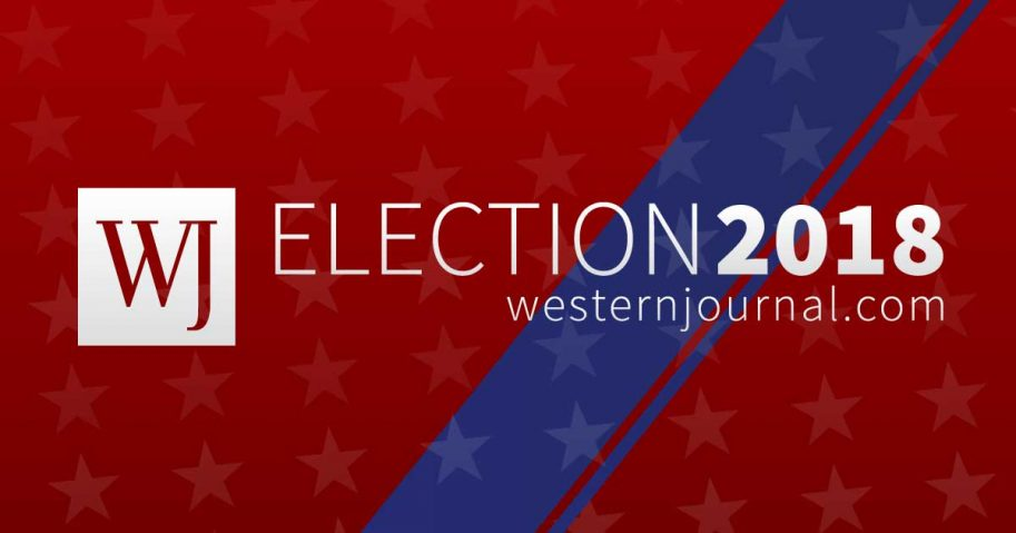 The Western Journal Election 2018 coverage logo