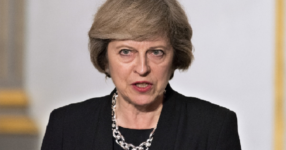 British Prime Minister Theresa May in a 2016 file photo.