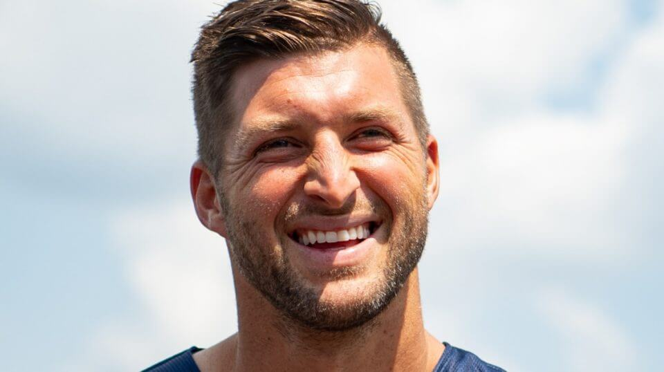 """Tim Tebow just announced a new venture called """"Million Dollar Mile."""""""