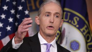 Rep. Trey Gowdy answers questions in a 2016 file photo