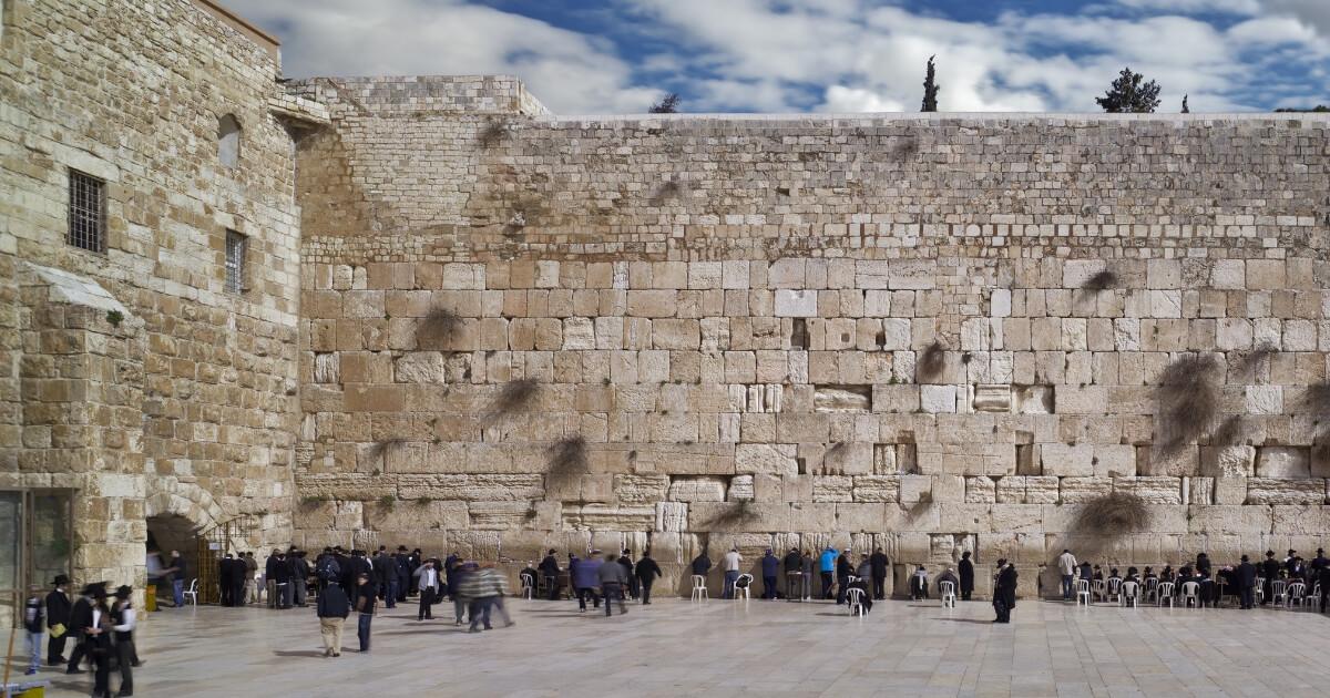 Jerusalem's Western Wall.