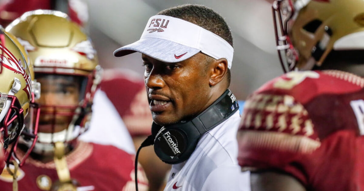 Florida State coach Willie Taggart,