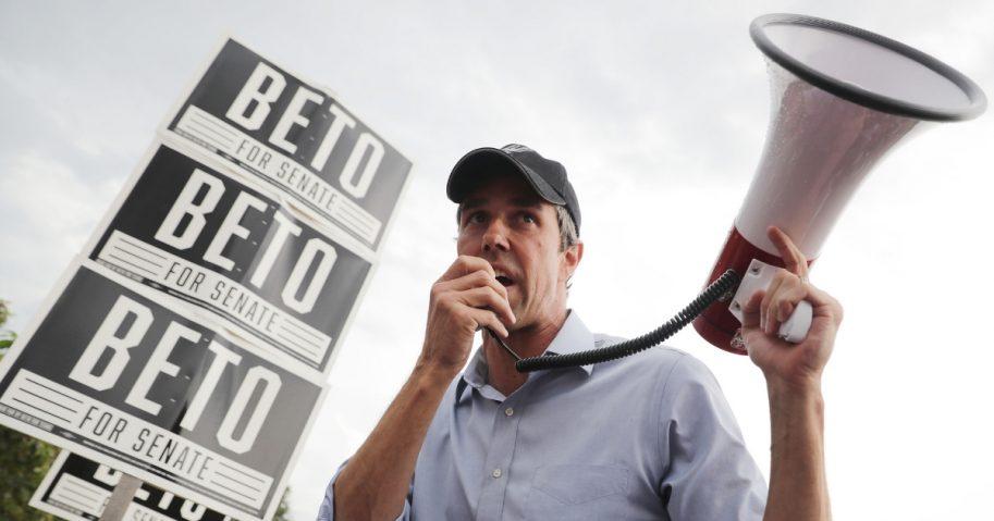 U.S. Senate candidate Rep. Beto O'Rourke
