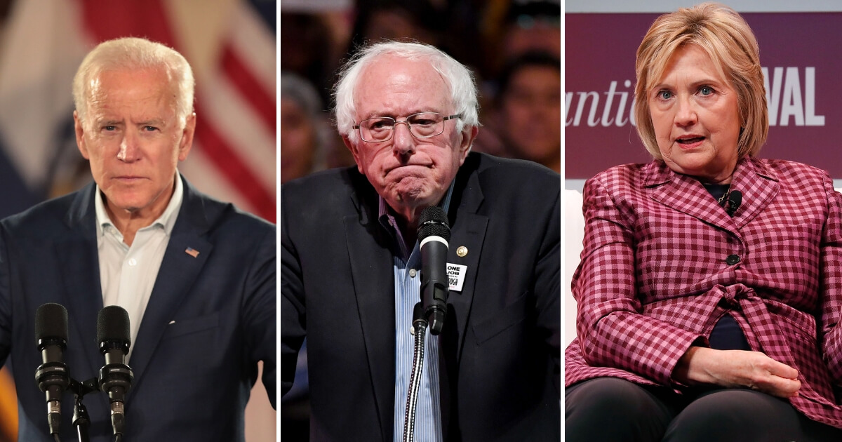 Biden, Sanders, Clinton