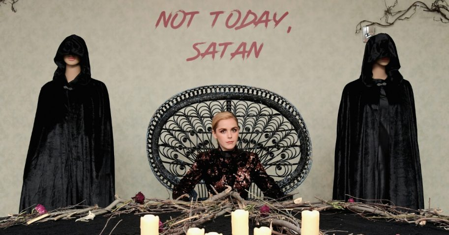 Kiernan Shipka attends Netflix Original Series 'Chilling Adventures of Sabrina' red carpet