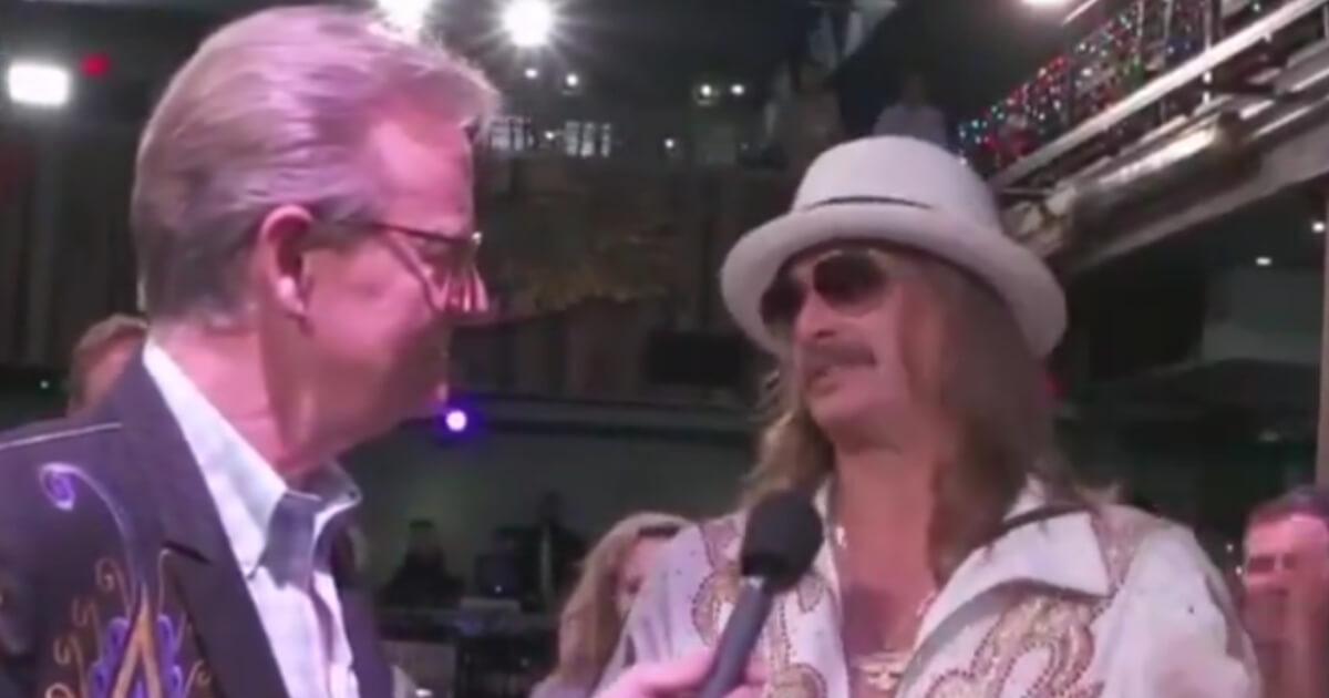 Kid Rock live on Fox News