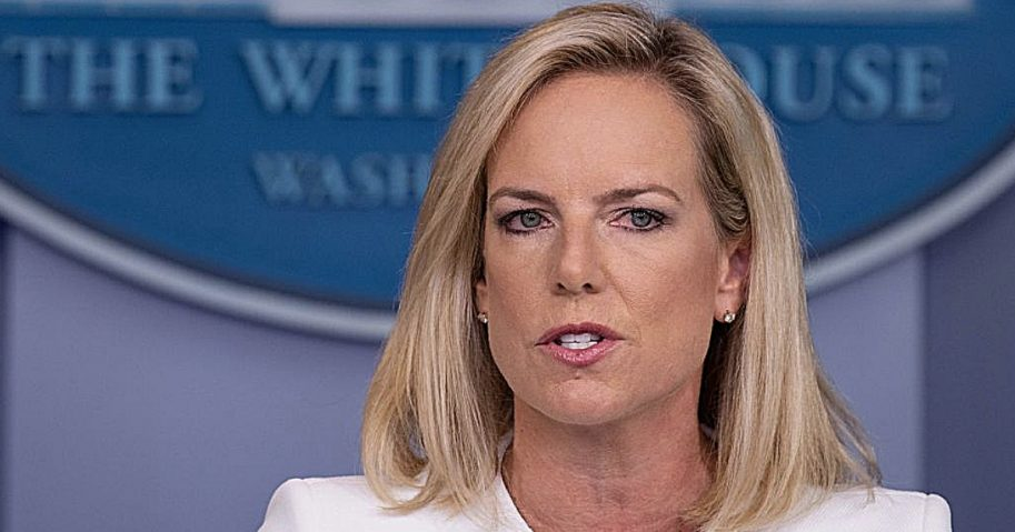 Department of Homeland Security Secretary Kristjen Nielsen.