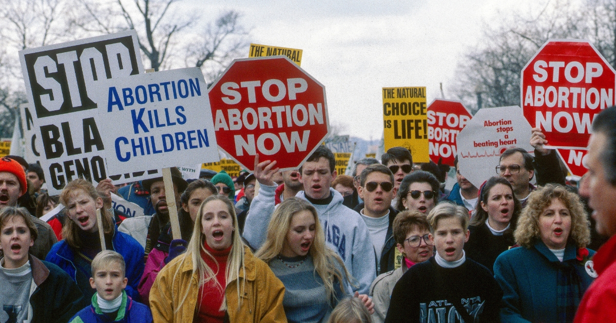 March for Life march