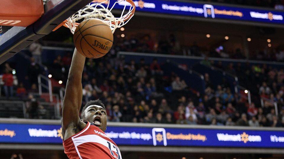 Thomas Bryant dunks