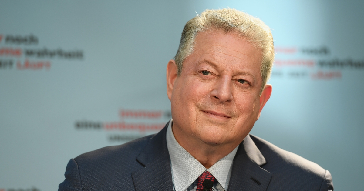 Former Vice President Al Gore attends a press conference for 'An Inconvenient Sequel: Truth to Power' at Hotel Adlon on Aug. 8, 2017, in Berlin, Germany.