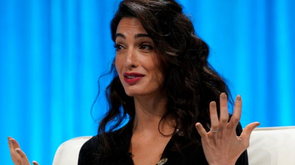 Amal Clooney, wife of actor George Clooney
