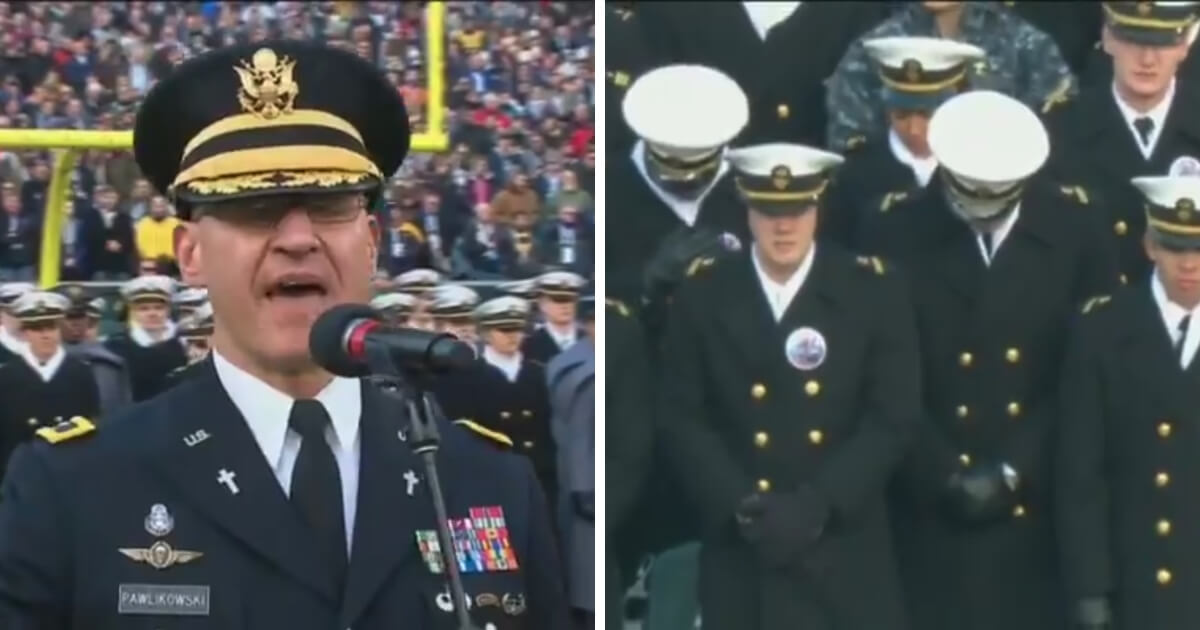 Watch: The Opening Prayer at This Year's Army-Navy Game Will Be Replayed for Years To Come