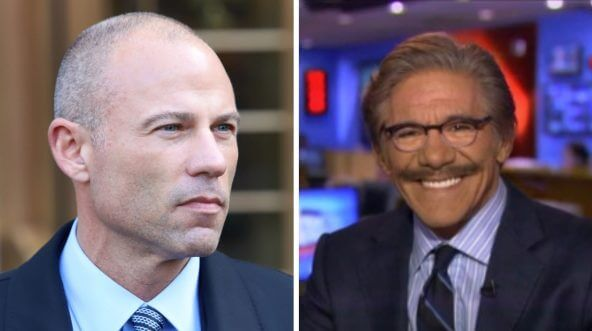 Michael Avenatti and Geraldo Rivera