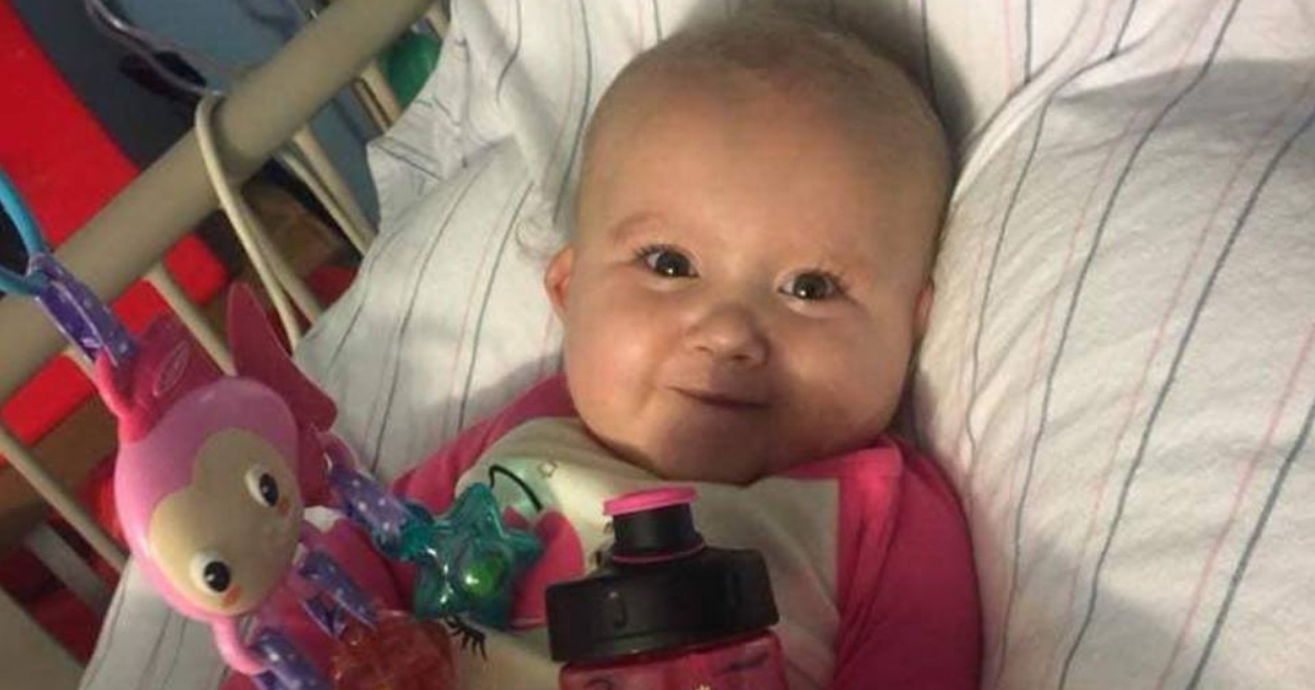 Mother Desperately Seeks Transplant as Her Infant Daughter Lies Slowly Dying