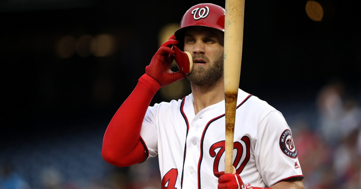 After He Turns Down $300 Million Deal, Nats Appear To Give Up on Harper