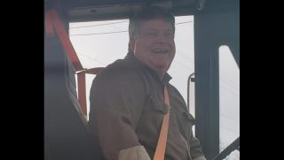 Bus Driver Buys Food