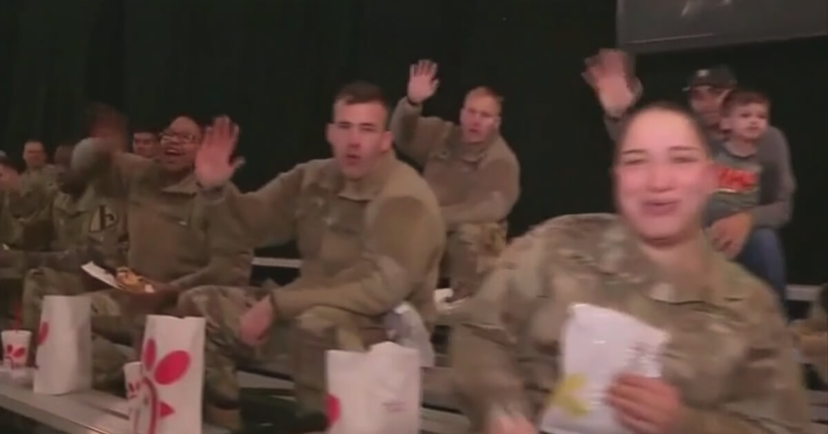 Chick-fil-A Gives Back to Active Military Members Who Can't Make It to the Big Game