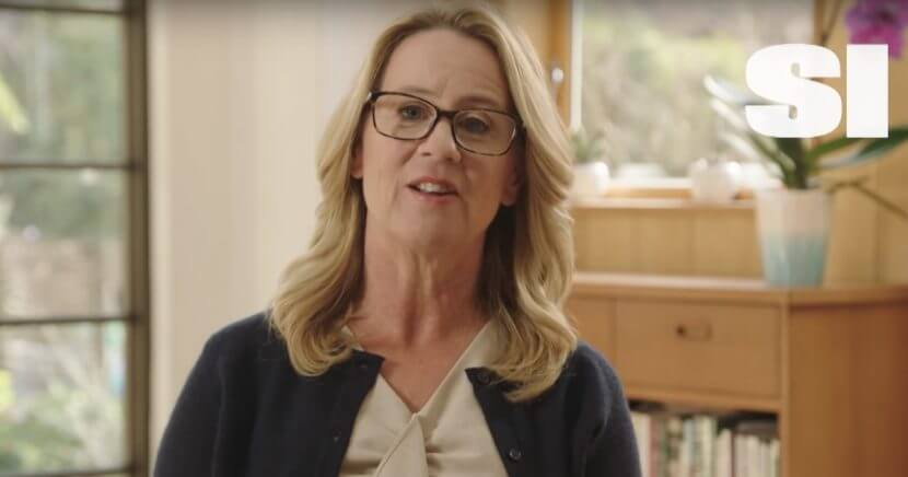 Christine Blasey Ford, who made unsubstantiated claims of sexual assault against Supreme Court Justice Brett Kavanaugh, appears in a Sports Illustrated promo video.