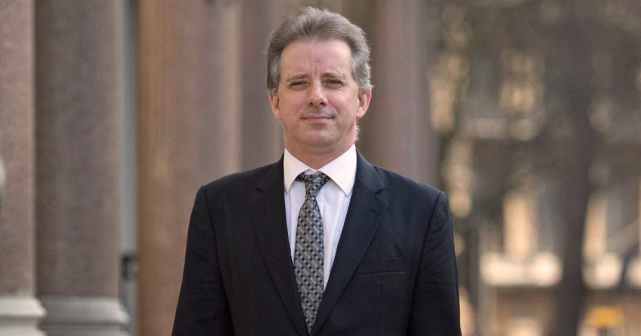 This Tuesday, March 7, 2017 file photo shows Christopher Steele, the former MI6 agent who set up Orbis Business Intelligence and compiled a dossier on Donald Trump, in London.
