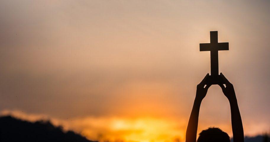 Cross Held to Heaven
