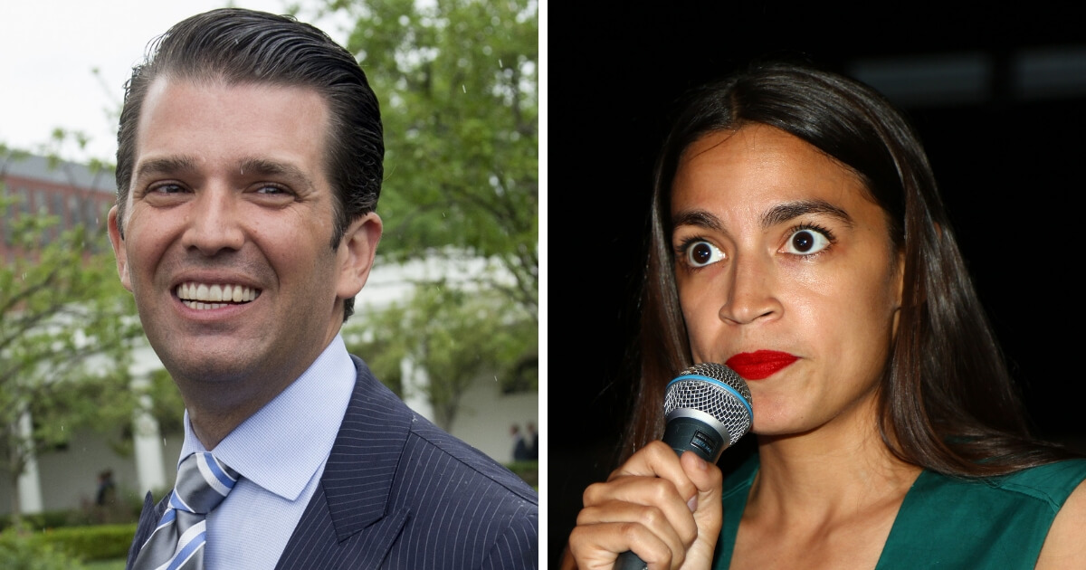 After Threatening Don Jr. with Subpoena, Internet Slams Ocasio-Cortez with Criminal Warning