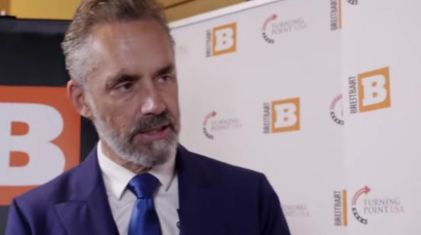 Dr. Jordan Peterson being interviewed by Breitbart