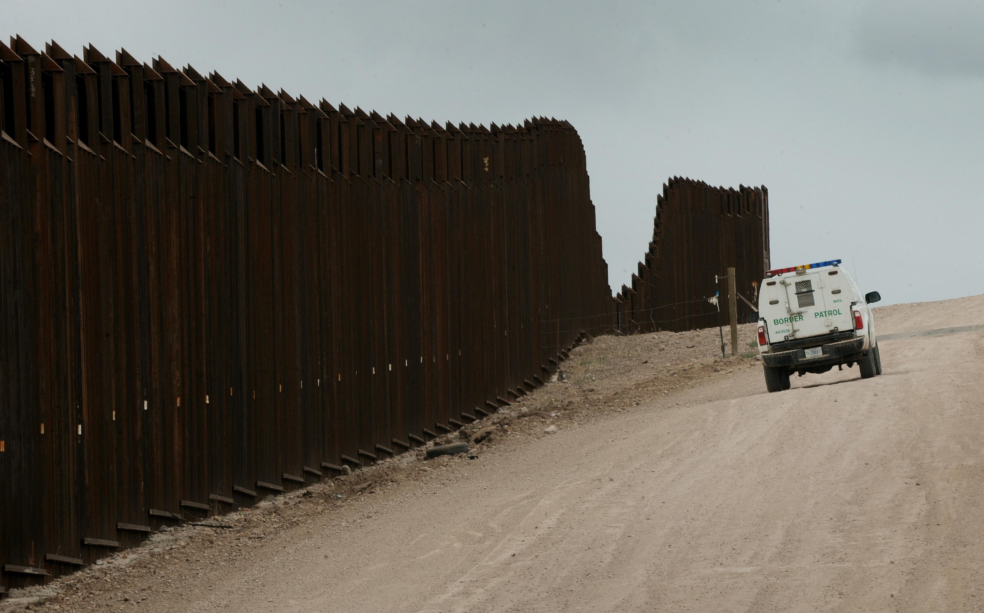 A US Border Patrol vehicle