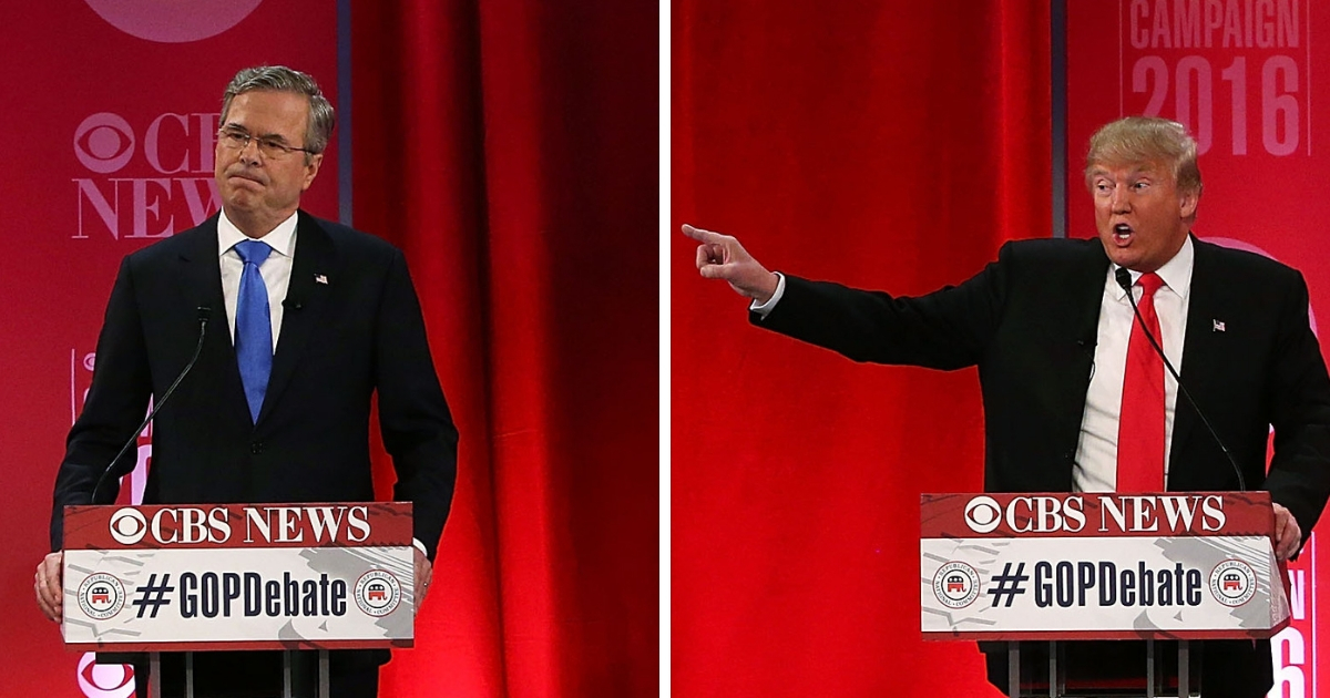 Jeb Bush Speaks Out on Donald Trump's Response to H.W.'s Death: 'Couldn't Have Been Nicer'